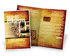 Careers/Industry: Saw Mill Brochure Template #05341
