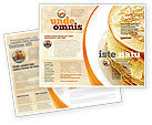 Food & Beverage: Modello Brochure - Pancakes #05343