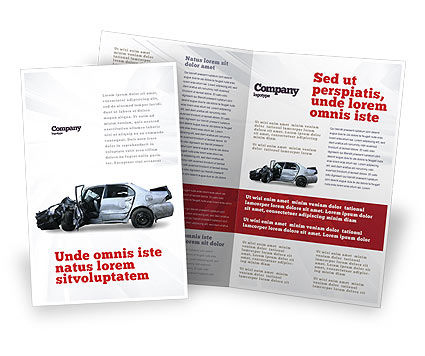 Accident Brochure Template