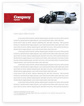 Consulting: Accident Letterhead Template #05346