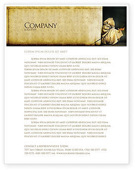 Asian Poverty Letterhead Template, 05361, People — PoweredTemplate.com
