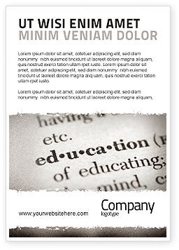 Education & Training: Glossary Ad Template #05367