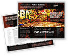 Art & Entertainment: Modello Brochure - Zona di graffiti #05376