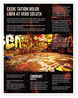 Graffiti Zone Flyer Template