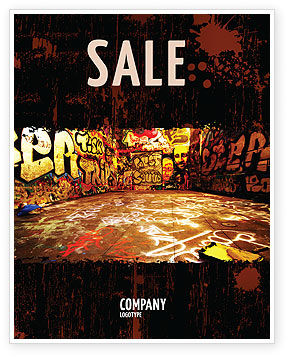 Art & Entertainment: Modello Poster - Zona di graffiti #05376