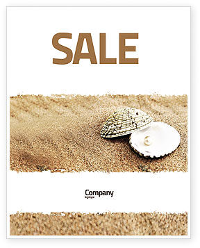 Pearl Sale Poster Template, 05378, Holiday/Special Occasion — PoweredTemplate.com