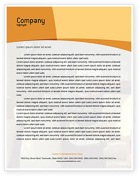 Hotel Restaurant Letterhead Template, 05392, Careers/Industry — PoweredTemplate.com