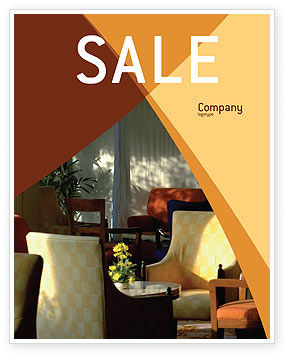 Hotel Restaurant Sale Poster Template