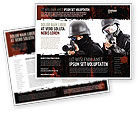 Military: SWAT Brochure Template #05404