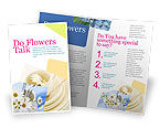Careers/Industry: Table Bouquet Brochure Template #05406