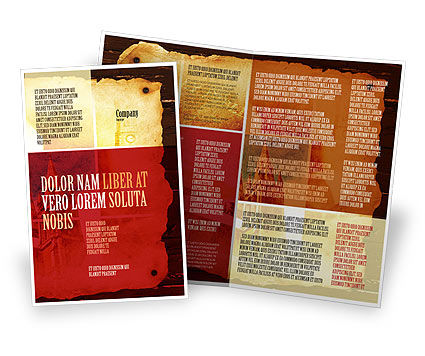 Holy Scripture Brochure Template, 05416, Religious/Spiritual — PoweredTemplate.com