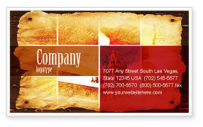 Religious/Spiritual: Holy Scripture Business Card Template #05416