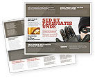 Legal: Masked Man Brochure Template #05417
