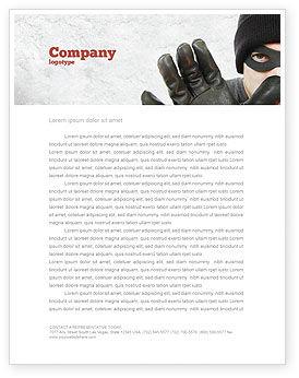 Legal: Templat Kop Surat Pria Bertopeng #05417