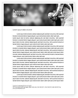 Rugby Football Letterhead Template, 05421, Sports — PoweredTemplate.com