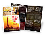 Careers/Industry: Paris In Collage Brochure Template #05425