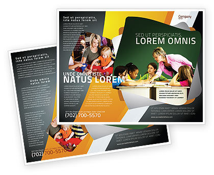 Class Teaching Brochure Template