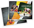 Education & Training: Class Teaching Brochure Template #05430