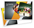 Education & Training: Class Teaching Postcard Template #05430