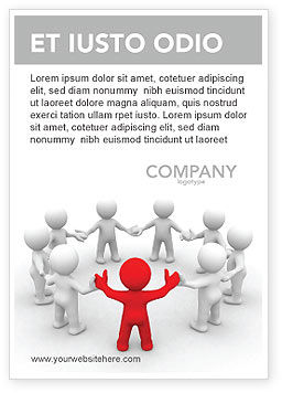 Union Ad Template, 05459, Consulting — PoweredTemplate.com