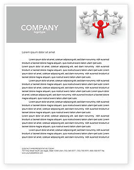 Consulting: Union Letterhead Template #05459