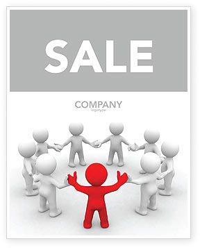 Consulting: Union Sale Poster Template #05459
