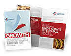 Business Concepts: Crisis Overcome Brochure Template #05460
