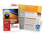 Sports: Hitting The Goal Brochure Template #05469