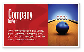 Hitting The Goal Business Card Template, 05469, Sports — PoweredTemplate.com