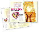Religious/Spiritual: Sharing Love Brochure Template #05472