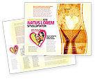 Religious/Spiritual: 愛を分かち合う - パンフレットテンプレート #05472