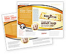 Business Concepts: Key to Success Brochure Template #05487