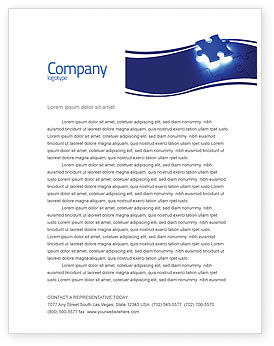 Business Concepts: Finishing Part Letterhead Template #05488