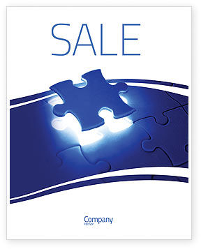 Finishing Part Sale Poster Template