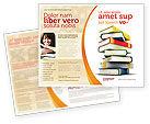 Education & Training: Templat Brosur Bacaan Penting #05494