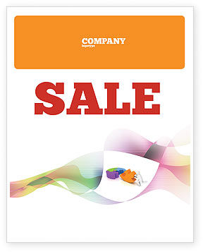 Matching Piece Sale Poster Template, 05496, Consulting — PoweredTemplate.com