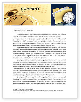 Document Workflow Letterhead Template, 05499, Business — PoweredTemplate.com