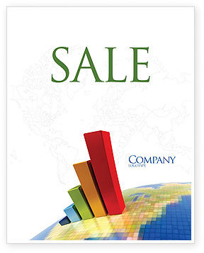 Business Concepts: Economic Indexes Sale Poster Template #05500