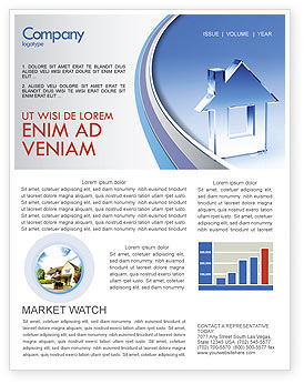 Construction: Crystal Home Newsletter Template #05505