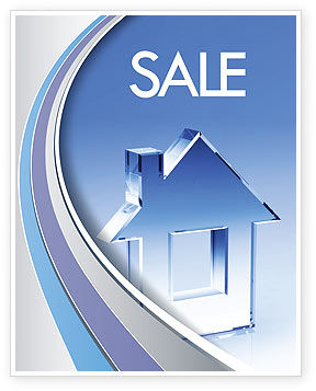 Construction: Crystal Home Sale Poster Template #05505