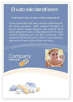 Medical: Voorschrift Advertentie Template #05517