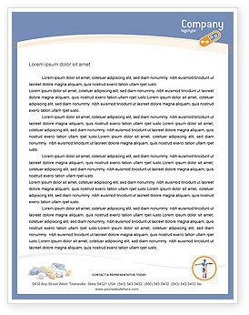 Medical: Prescription Letterhead Template #05517