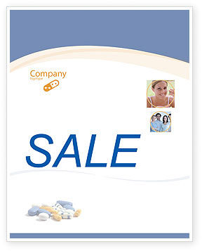 Prescription Sale Poster Template, 05517, Medical — PoweredTemplate.com