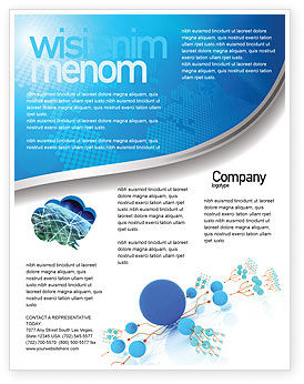 Developed Network Flyer Template