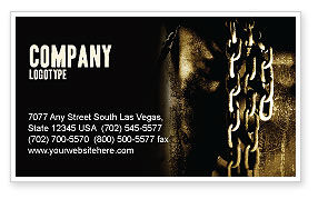Utilities/Industrial: Chains Business Card Template #05527