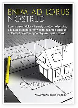 Careers/Industry: Huis Ontwerp Advertentie Template #05541