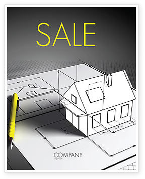 Careers/Industry: House Draft Sale Poster Template #05541