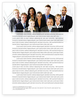 Business: Business Personnel Letterhead Template #05550