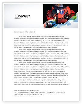 Medical: Ambulance Kit Letterhead Template #05551