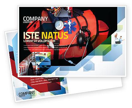 Medical: Modèle de Carte postale de kit d'ambulance #05551
